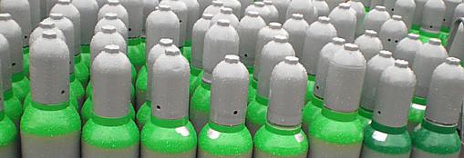 Technische Gase, Pfandflasche, Kauf- und Tauschflaschen